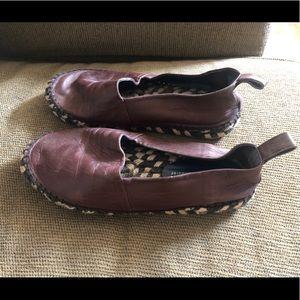 Auth Proenza Schouler Purple Slip On Shoes Sz 6.5